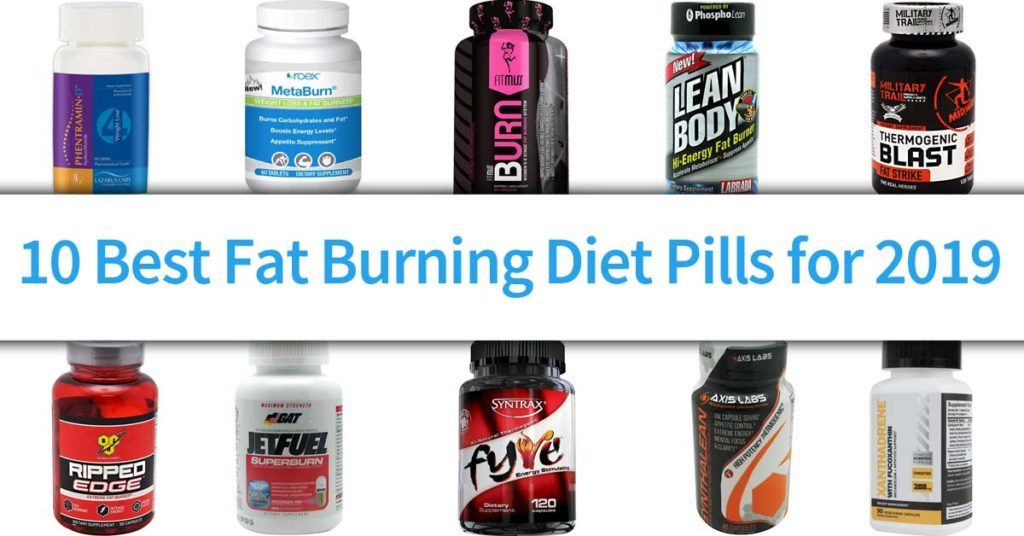 best-fat-burning-diet-pills-2019