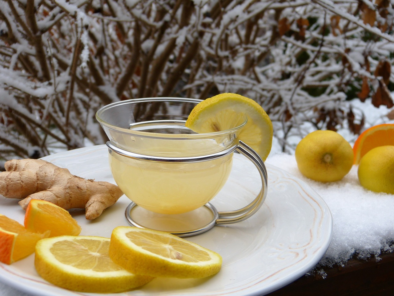 fat-burning-drink-lemon-ginger-tea
