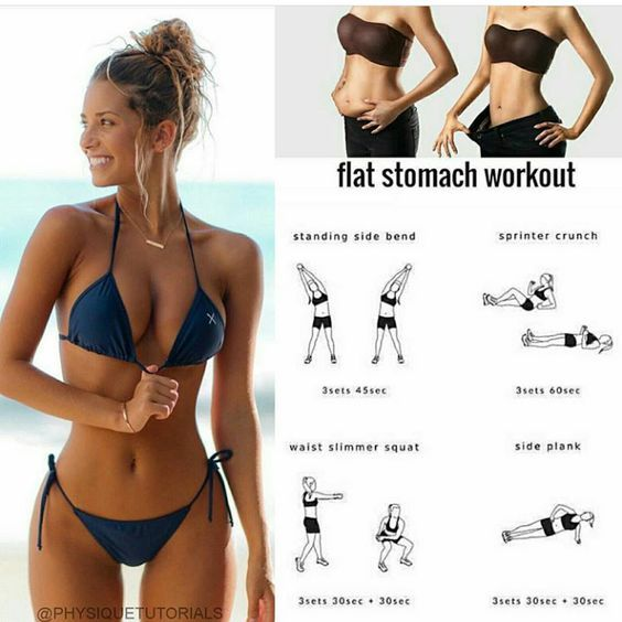 flat-stomach-workout-belly-fat