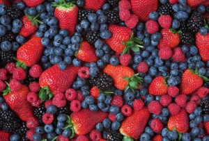 Fat melting foods - berries