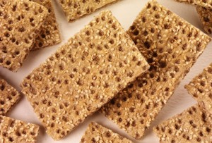 Fat melting foods - crispbreads