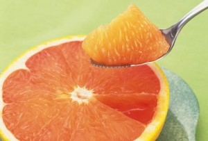Fat melting foods - grapefruit