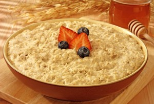 Fat melting foods - oatmeal