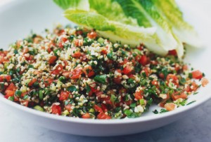 Fat melting foods - tabouli